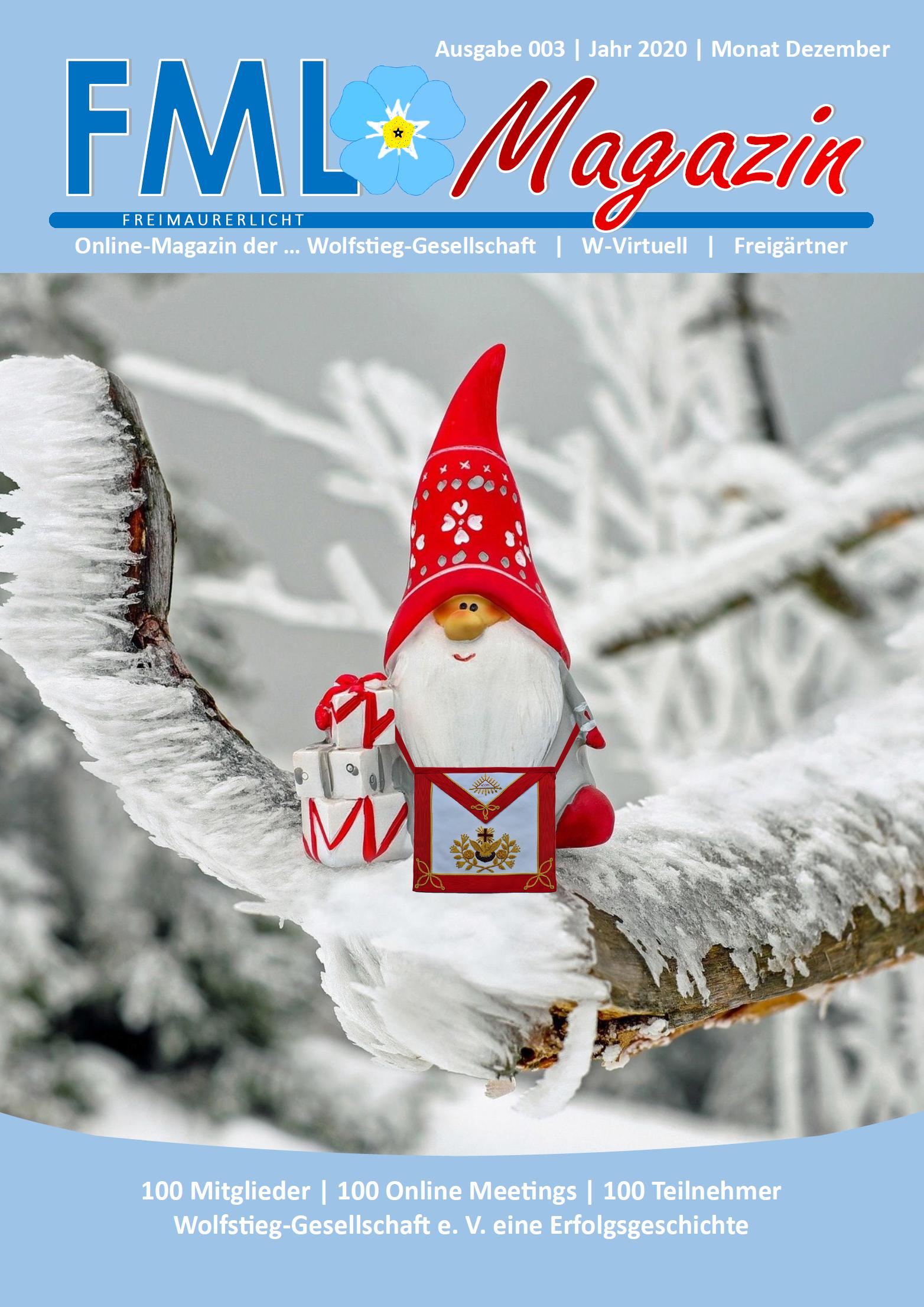 FML Magazin Freimaurer