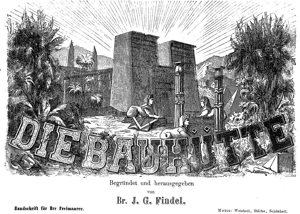 Bauhütte, Freimaurerzeitschrift