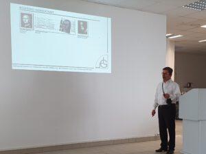 Dipl-Ing. Linus M. Scheffran, Kolloquium der Wolfstieg-Gesellschaft in Potsdam am 14.08.2021
