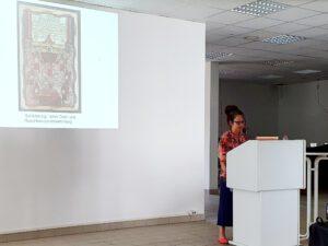 Dr. Berit Ruge, Kolloquium der Wolfstieg-Gesellschaft in Potsdam am 14.08.2021