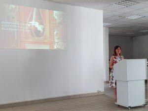 Nadine Grimmig, MA, Kolloquium der Wolfstieg-Gesellschaft in Potsdam am 14.08.2021